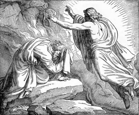Elijah and God